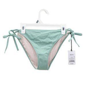 Shade & Shore Olive Green Bikini Swim Bottoms Low